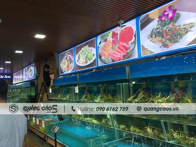 Hệ thống biển quảng cáo Nhà Hàng Hải Sản