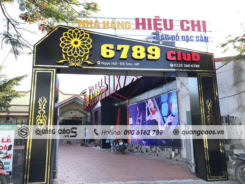 Biển quảng cáo 6789 Club Đồ Sơn