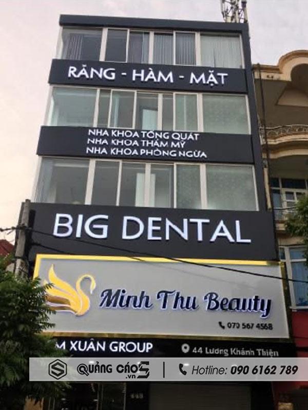 Biển quảng cáo Minh Thu Spa