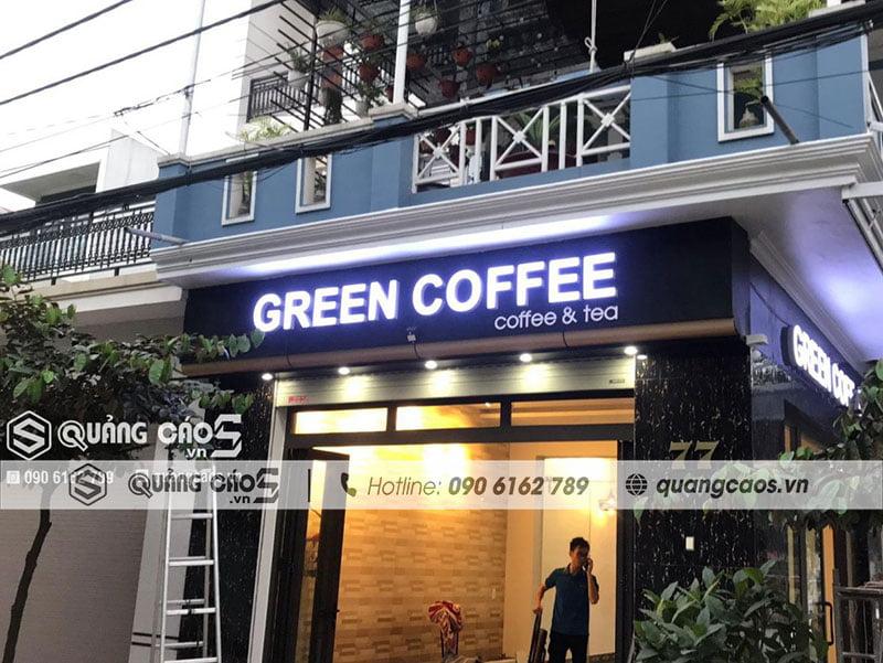Biển quảng cáo - Green Coffee