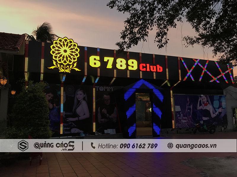 Biển quảng cáo 6789 Club