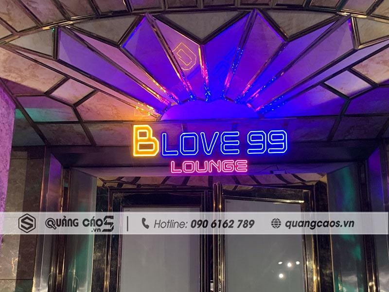 Làm biển quảng cáo - Blove 99