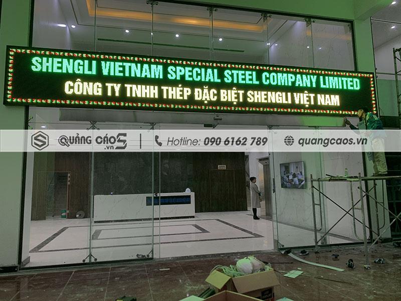 Led ma trận công ty Sheng Shin