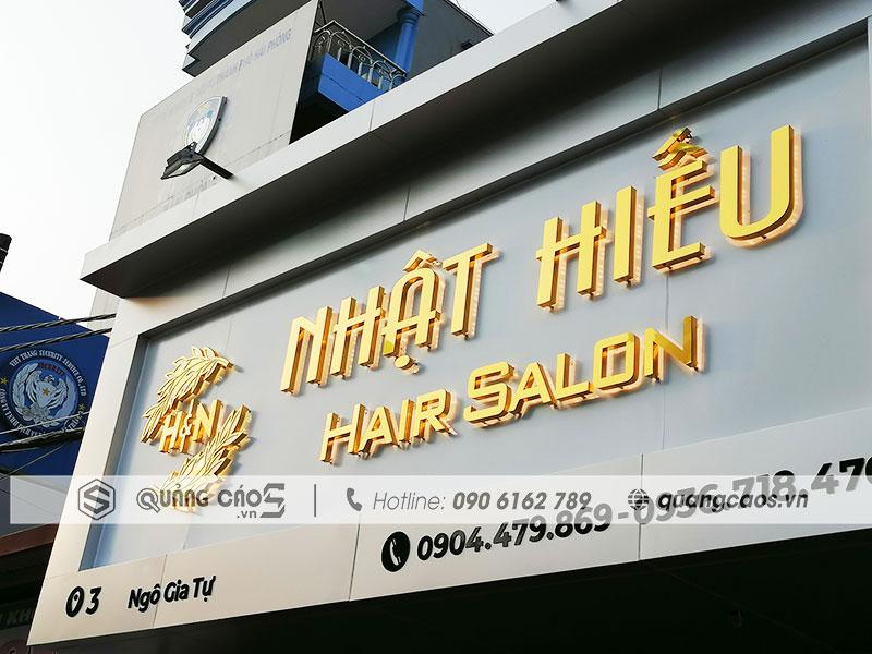 Biển quảng cáo Nhật Hiếu Hair - Ngô Gia Tự, Hải Phòng