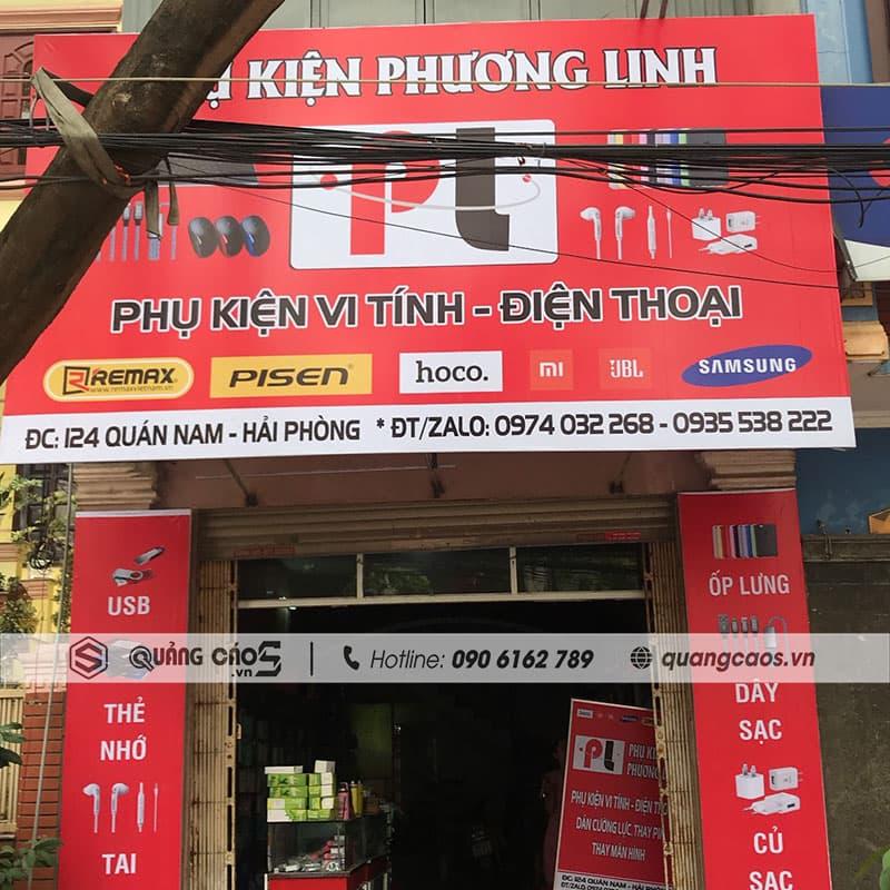 Biển quảng cáo Phụ Kiện Phương Linh - 124 Quán Nam, Hải Phòng