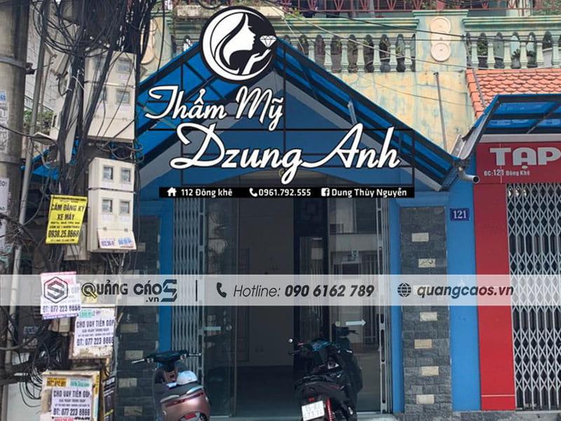 Biển quảng cáo Mỹ Phẩm Dzung Anh