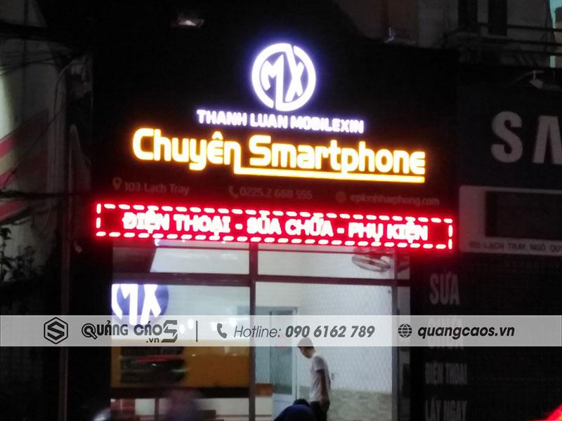 BIển quảng cáo led Thành Luân Mobile