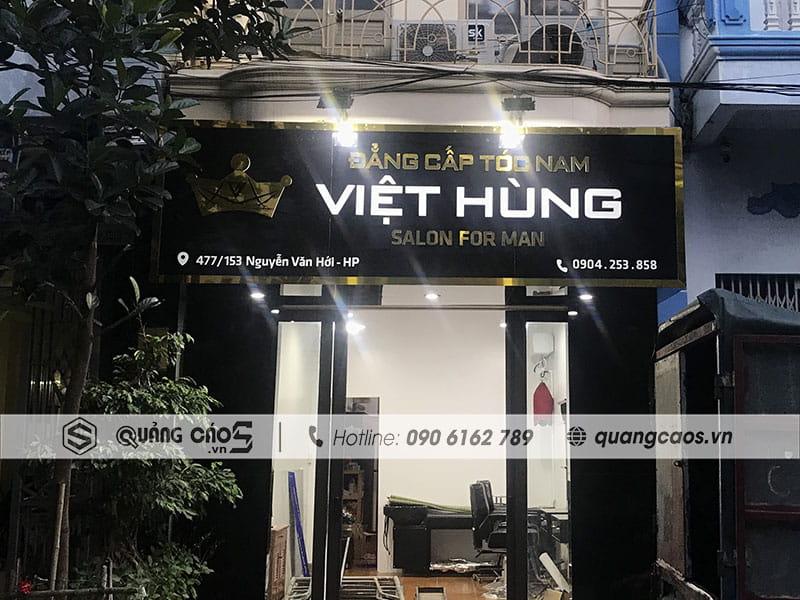 Biển quảng cáo Led Tóc Việt Hùng