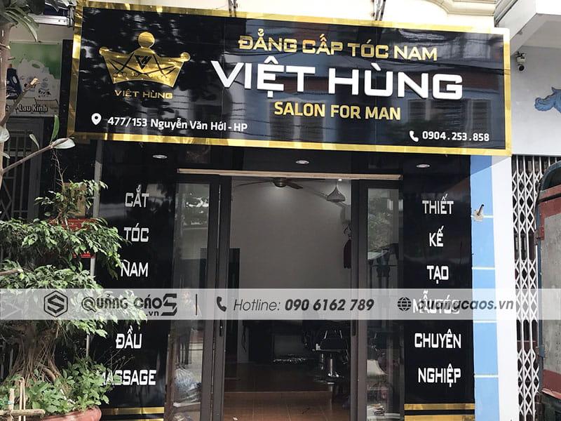 Biển quảng cáo Tóc Việt Hùng