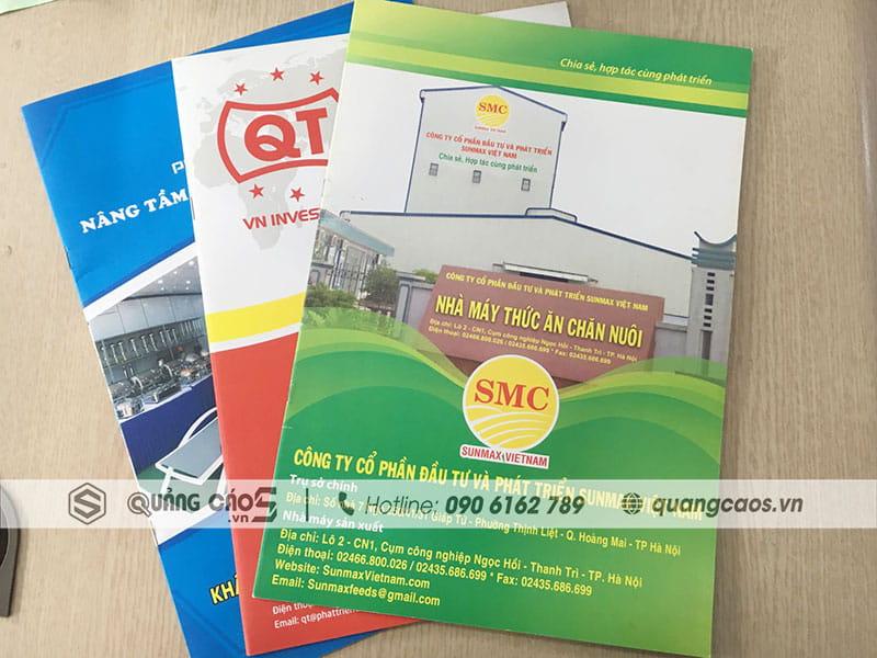 Thiết kế & in ấn Catalogue tại Hải Phòng