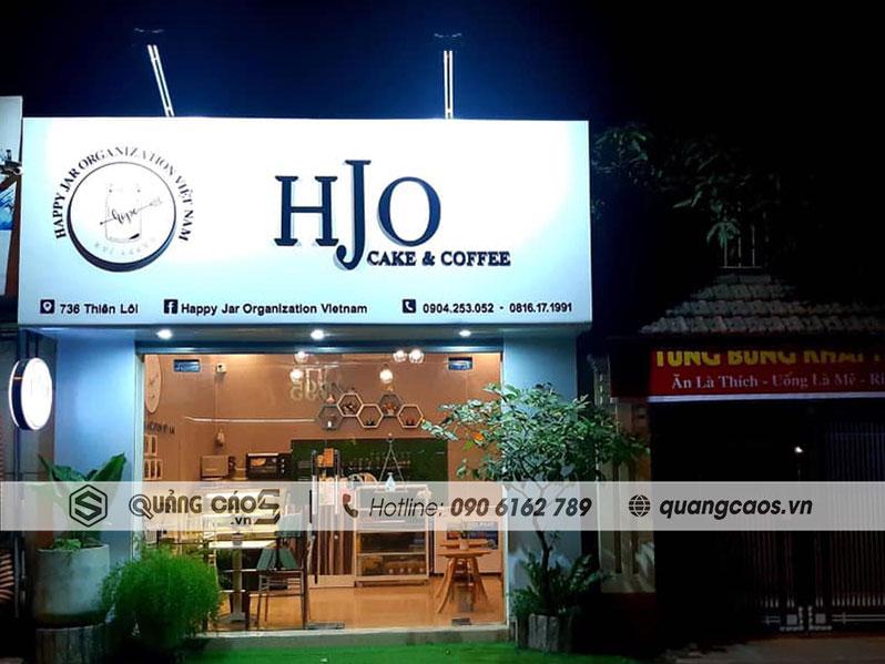 Làm biển quảng cáo cửa hàng HJO tại 736 Thiên Lôi, Hải Phòng