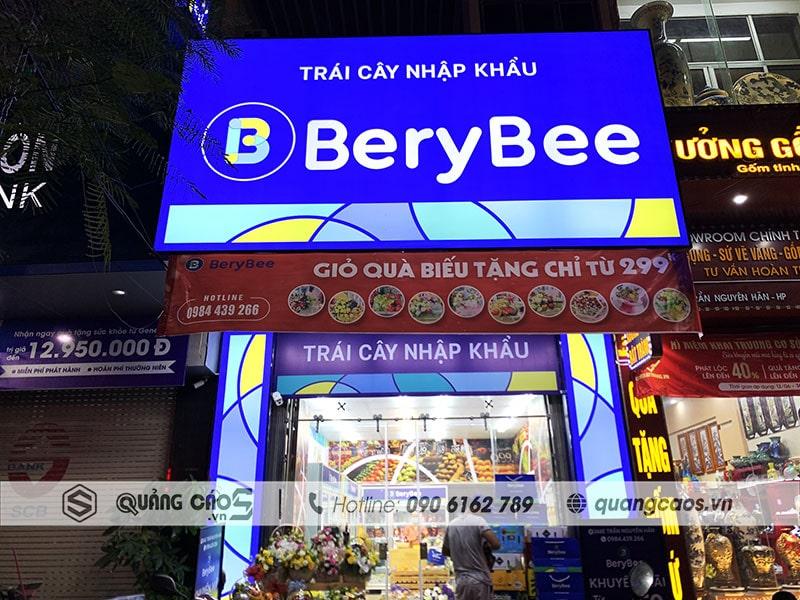 Biển quảng cáo BeryBee tại Trần Nguyên Hãn Hải Phòng
